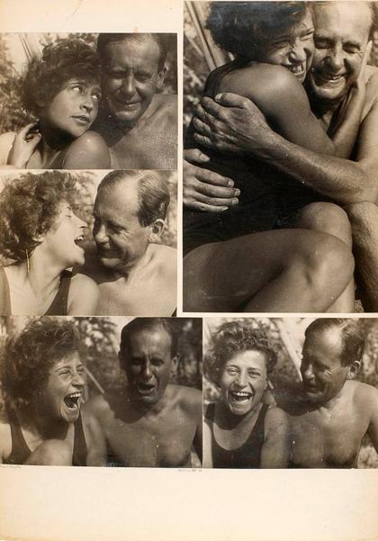 Pius(Walter Gropius) and Schifra, Ascona VIII 1930.